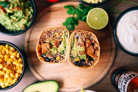 Mexicana les meilleures burritos de Laus