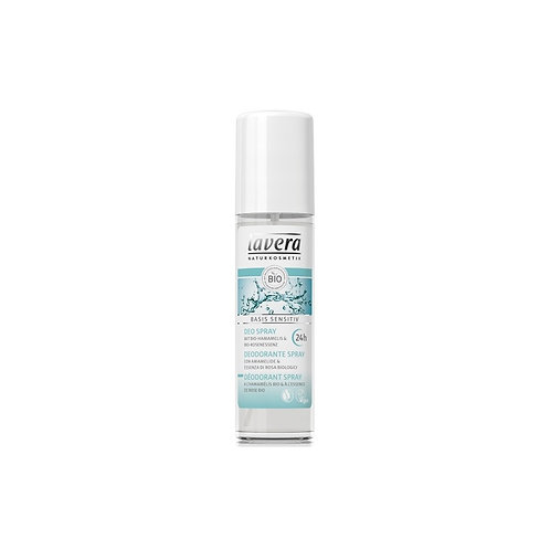 Déodorant spray 24h BIO hamamélis & rose
