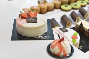 Bavarois vanille fraise