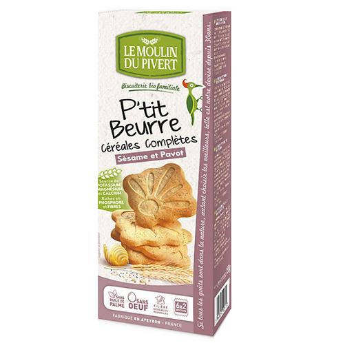 Ptit Beurre Céréales complètes SÉSAME ET PAVOT