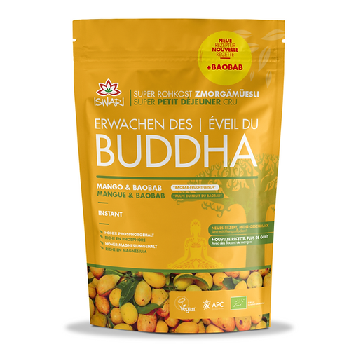 Éveil du Buddha MANGUE & BAOBAB CRU