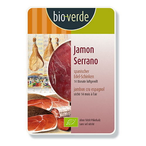 Jambon SERRANO en tranches
