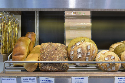 Assortiment pains