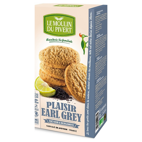 Biscuits Bio Plaisirs EARL GREY