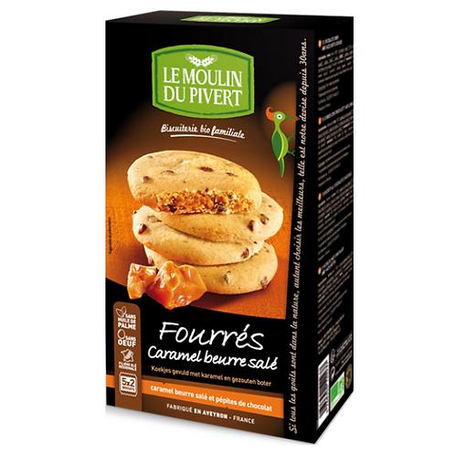 Cookies Fourrés CARAMEL BEURRE SALÉ