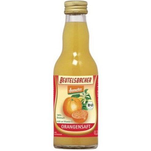 Jus d'orange pur jus