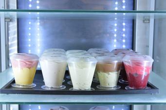 Assortiment de glaces