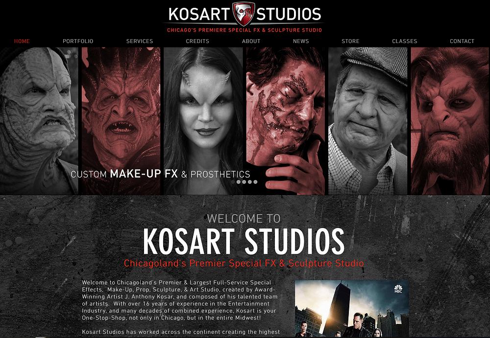 KosartStudios.com Homepage