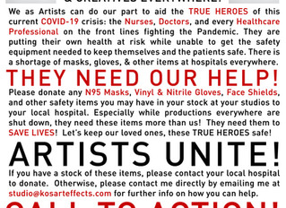 ATTN: ARTISTS: Help Stop COVID-19, Here's How...