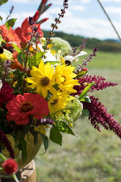 C.S.A. flower share Local Delivery: Westport+Essex+Elizabethtown+Willsboro