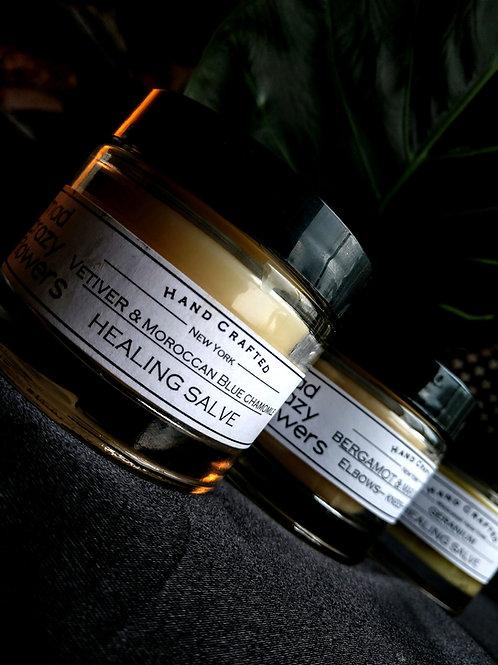 Salve Jar - Sweet Almond Oil & Mango Butter