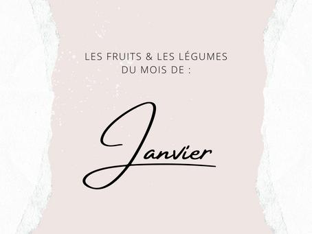 LES LÉGUMES DE JANVIER