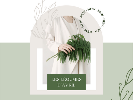 LES LÉGUMES D'AVRIL