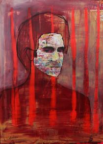 Autoportrait derrière les barreaux