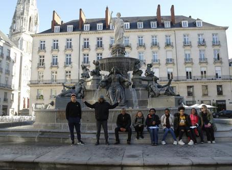 Sur la route des droits de l'Homme à Nantes