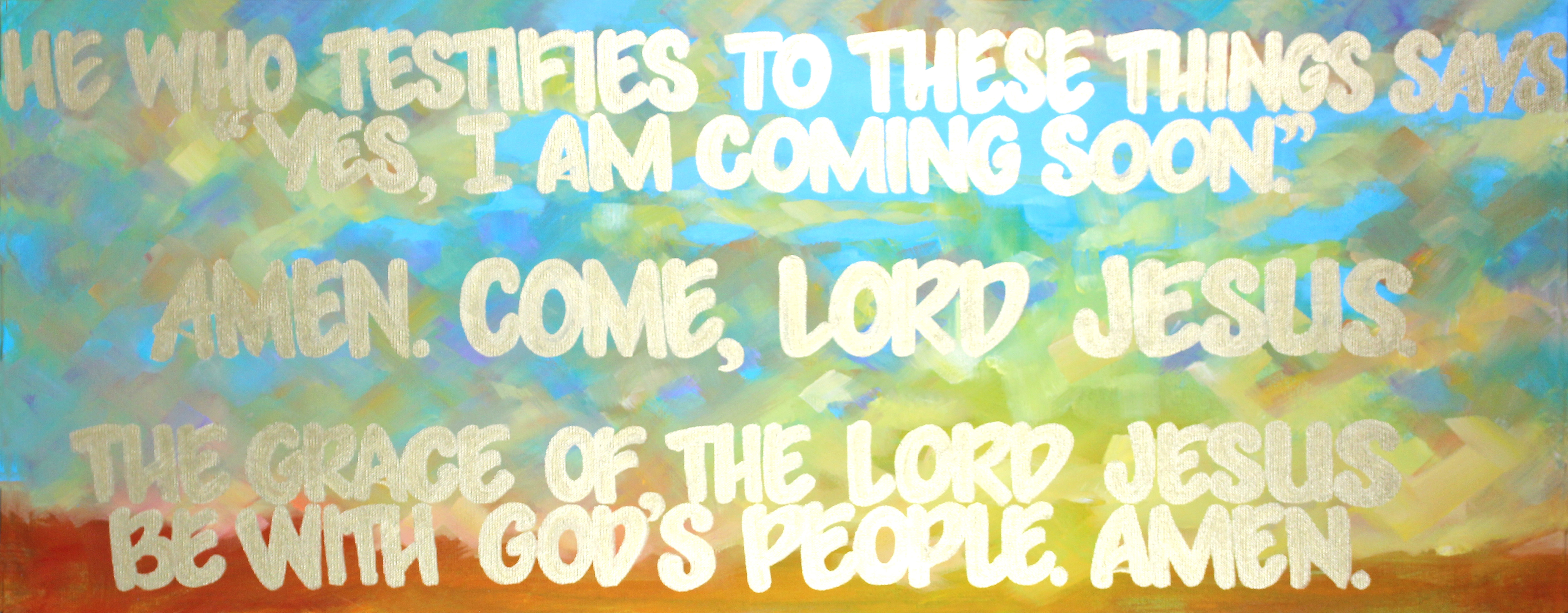 Revelation 22:20-21