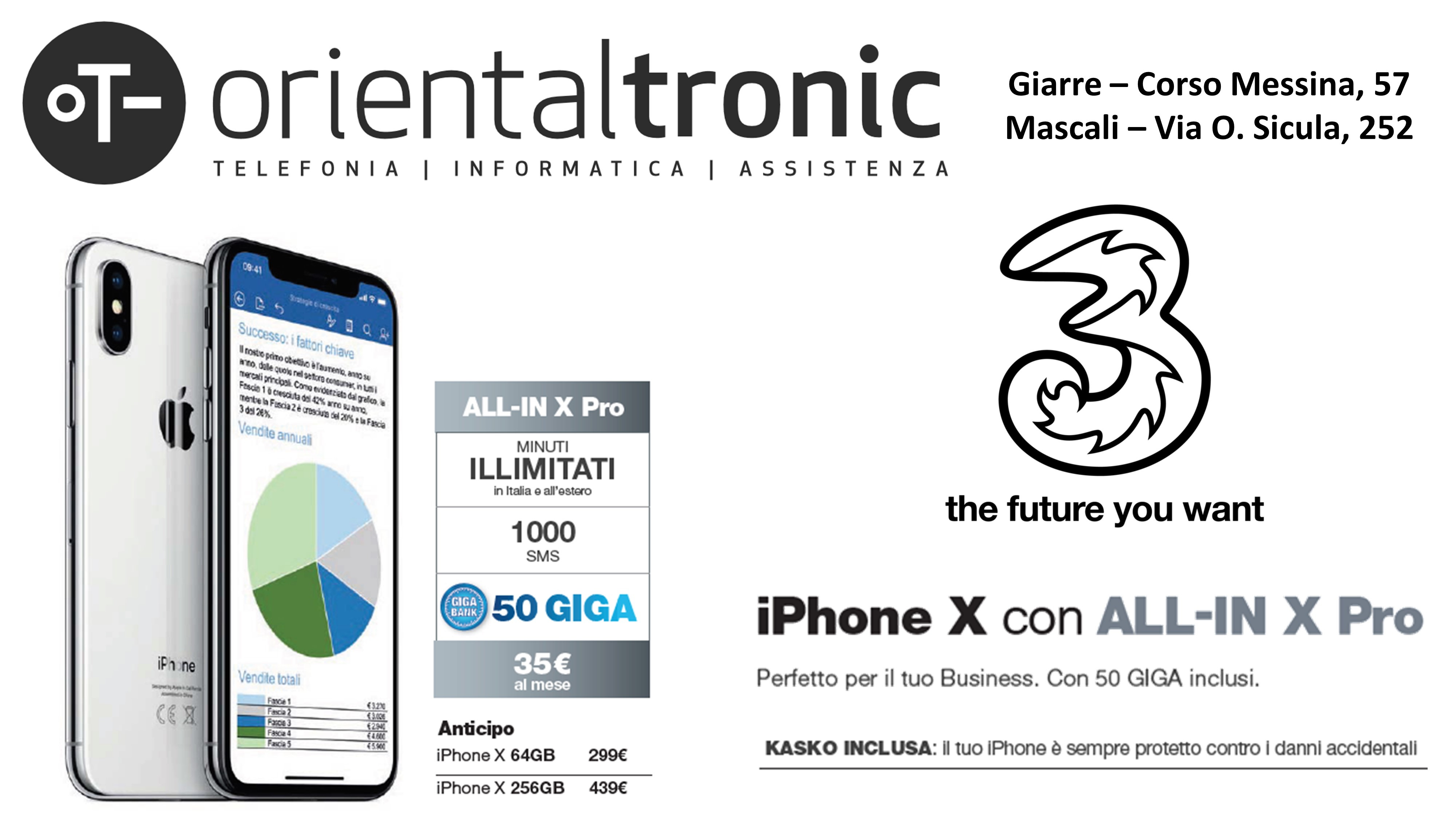 ALL-IN X PRO iPhone X 3 P.Iva