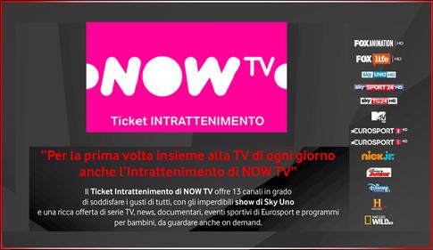 canali base vodafone tv now tv intrattenimento