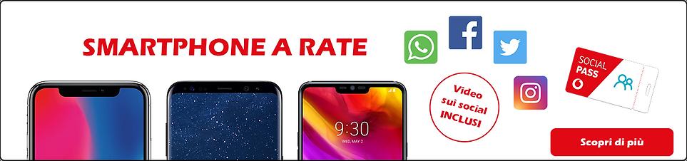 Vodafone Smartphone a rate da 0,99