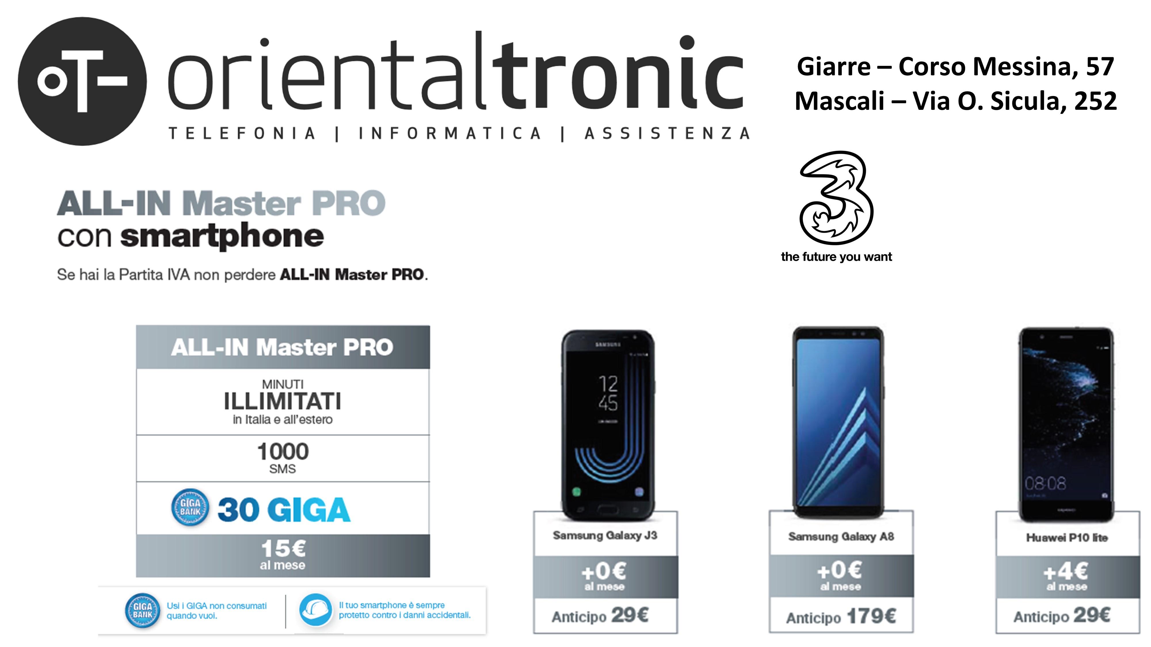 ALL-IN Master PRO smartphone 3 P.Iva
