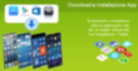 download e installazione app