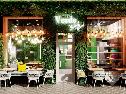 Дизайн Verde Salad bar
