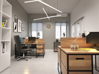 "Дизайн офиса ""Loft""  62 м2"