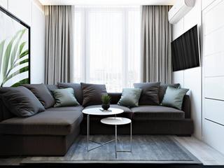 Дизайн квартиры в современном стиле 75 м2
