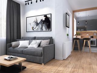 Проект однокомнатной квартиры ЖК Адмирал Сенявин 43 м2.