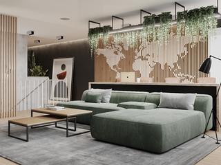 Проект двухэтажной квартиры площадью 180 м.кв.