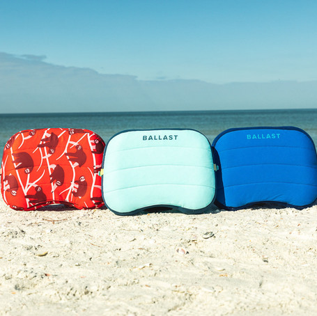 [Giveaway] Just in Time for Beach Season, The Ballast Inflatable Beach Pillow