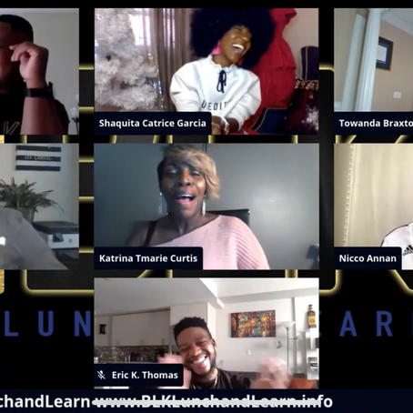 The #BLKLunchandLearn Panel Discuss Raising Black Children, Understanding Your Purpose and More