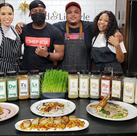 """Food & Lifestyle TV Host The """"Flavor and Spice"""" Chef Showcase"""