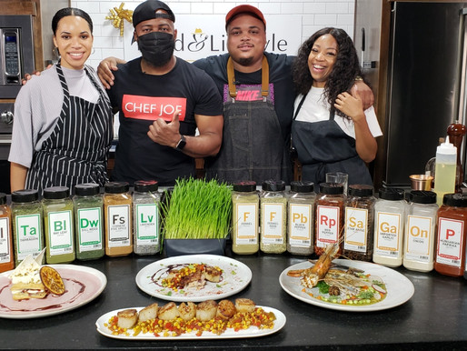 "Food & Lifestyle TV Host The ""Flavor and Spice"" Chef Showcase"
