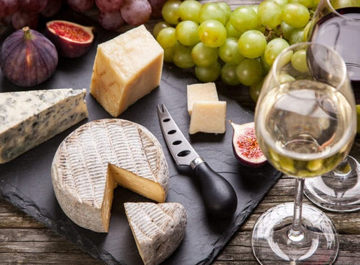 Let's Celebrate National Wine and Cheese Day