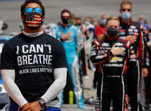 NASCAR's Bubba Wallace Unveils New Car Supporting Black Lives Matter