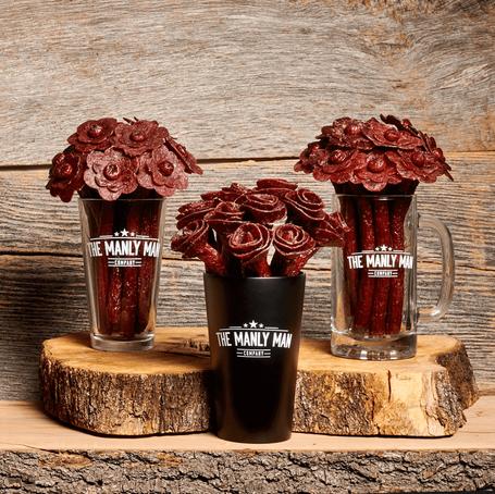 [Giveaway] Beef Jerky Flower Bouquet - Black Steel Edition
