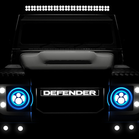 The First Tesla Powered Electric Defender Comes to The USA