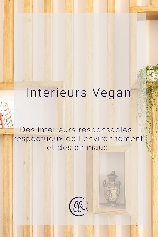 Interieurs vegan des intérieurs responsables respectueux de l'environnement et des animaux