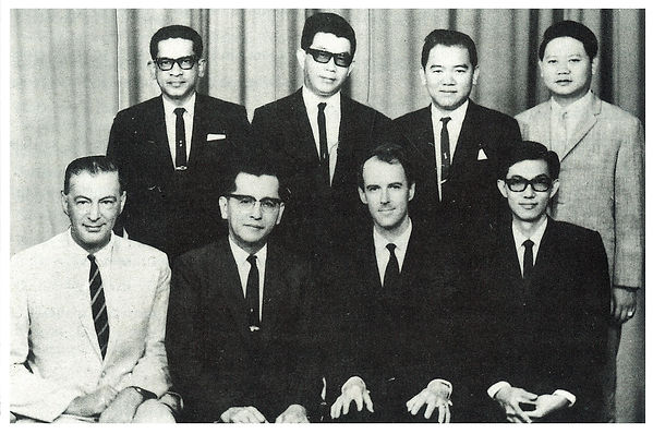 Malaysia Numismatic Society - Pro Tem Committee / Founders 1968