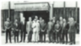 MNS members with Patron 27 Mar 1971