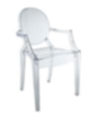 clear kids ghost chair