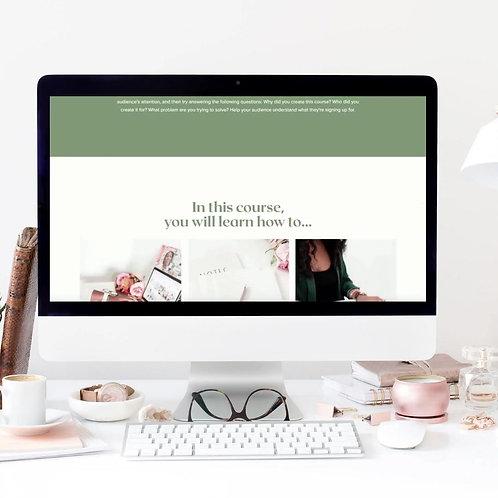 Stylish Landing Page