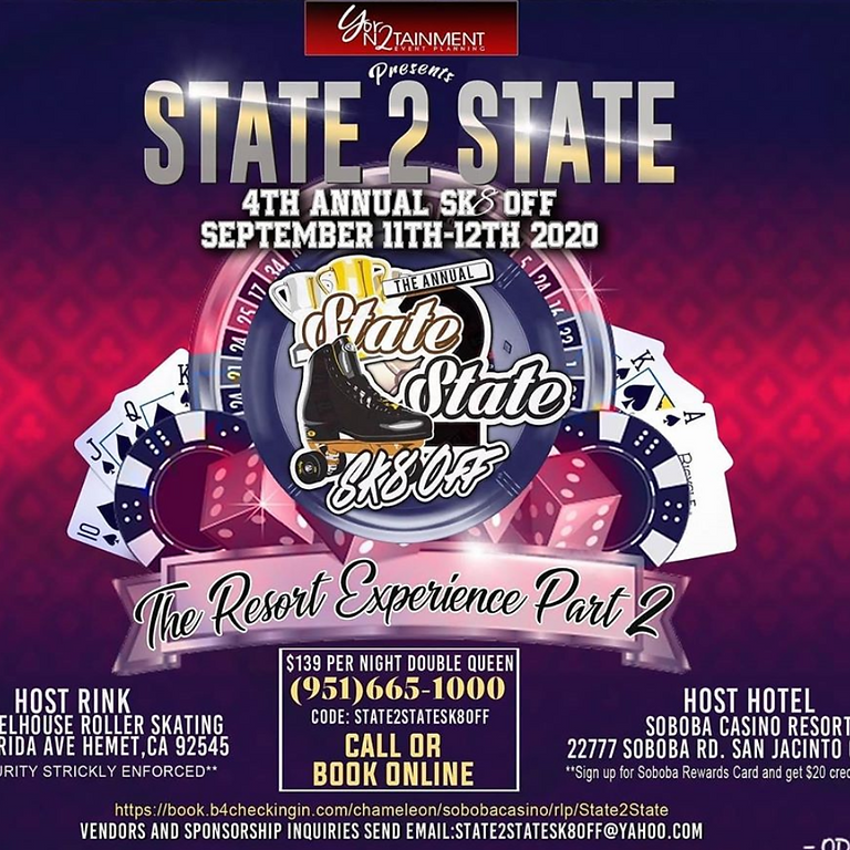State 2 State 4th Annual SK8 OFF