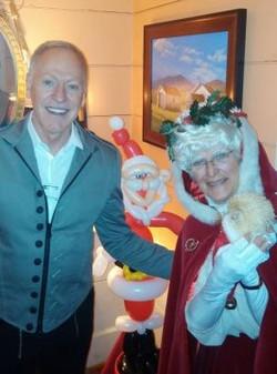 Tubby & Mrs. Claus  at Inn@Little Washington