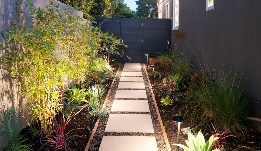 Custom Side Yard Project