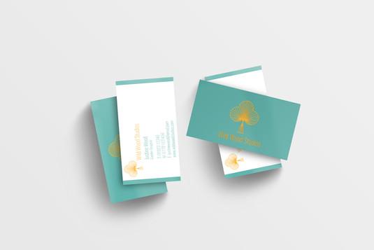 Wild Wood Studios Business Cards