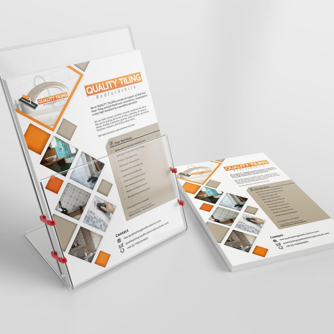 Quality Tiling  Branding - Flyer