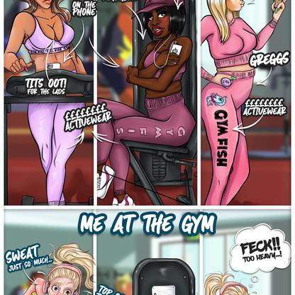 GymGirls Comic