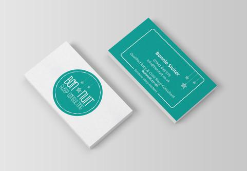 Bon Nuit Business Cards